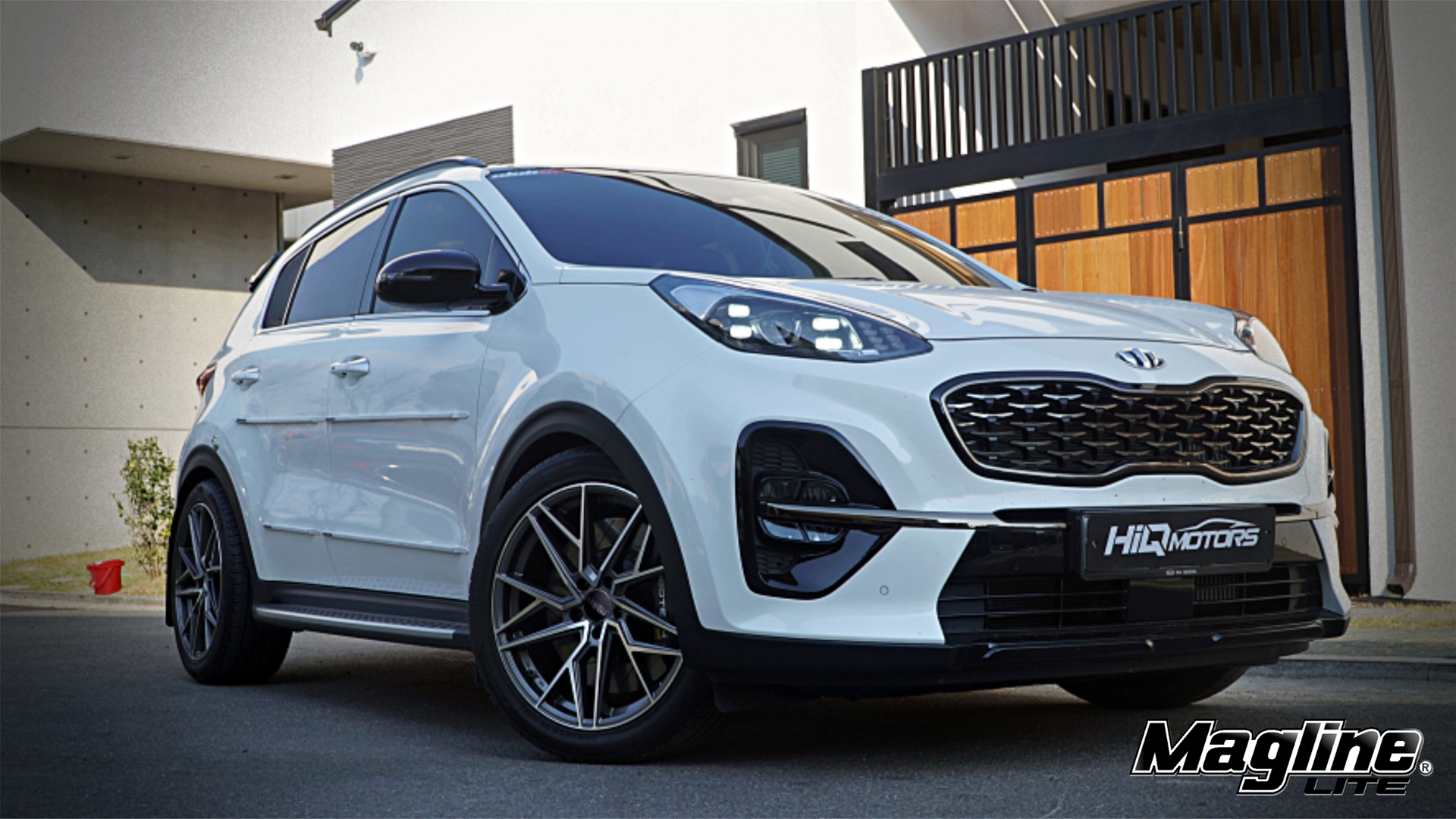 H-811L fitted with KIA Sportage