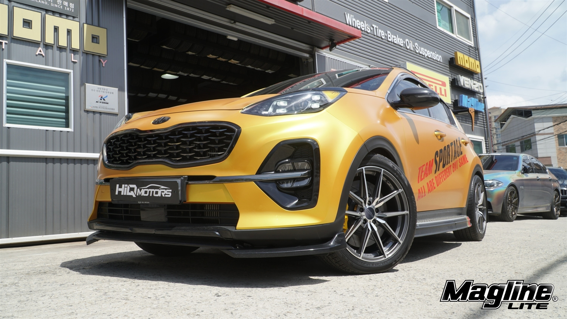 H-819 fitted with KIA Sportage